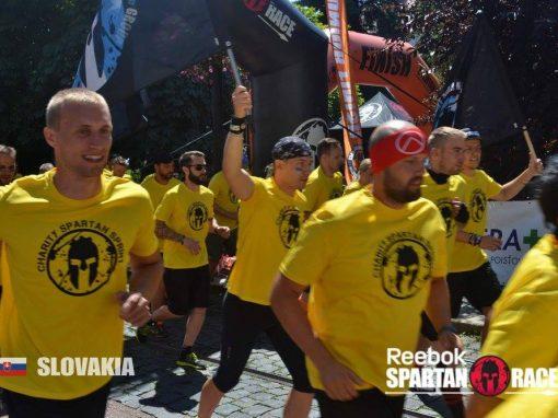 Spartan Race CHARITY CITY SPRINT, Košice, Slovensko