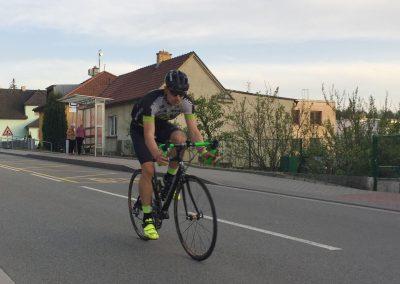 Vyjetí na kole před startem